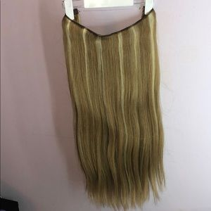 Hidden Crown 20in, 140g REMY hair extensions